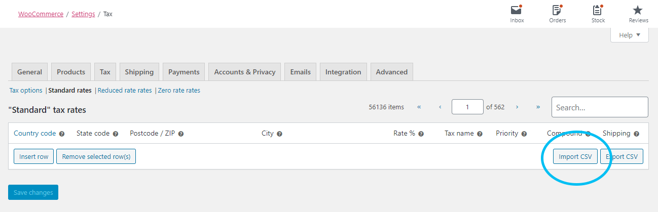 Woocommerce Sales Tax Csv How To Import